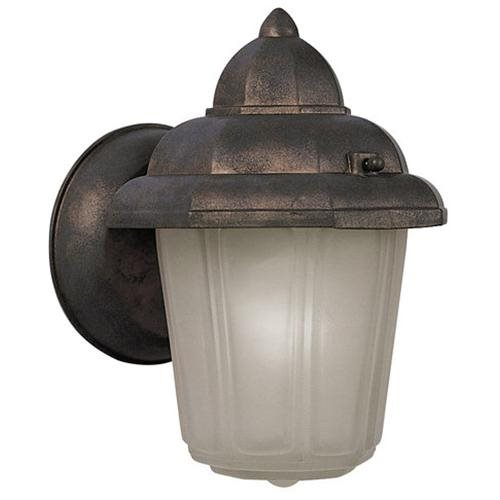 "6"" x 8.75"" Maple Street Outdoor Downlight, Washed Copper Die-Cast Aluminum"