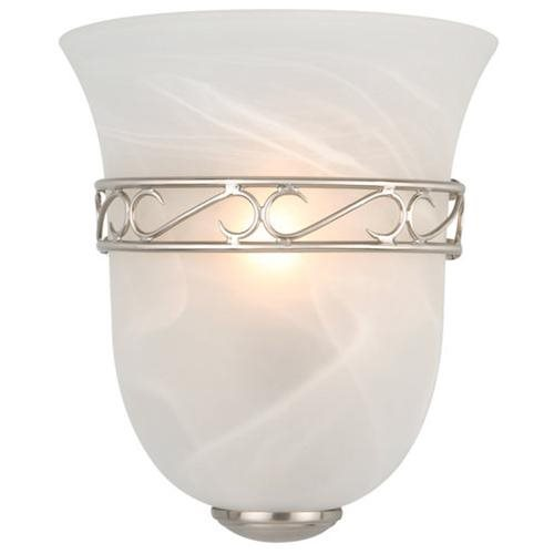 Marlowe 1-Light Wall Sconce, Satin Nickel