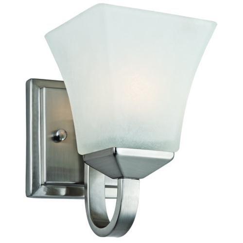 Torino 1-Light Wall Sconce, Satin Nickel