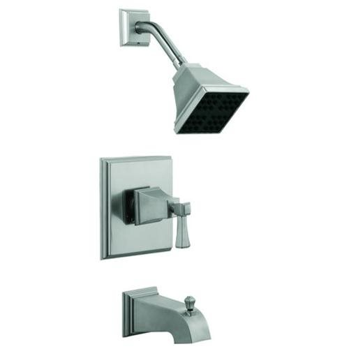 Torino Tub and Shower Faucet, Satin Nickel