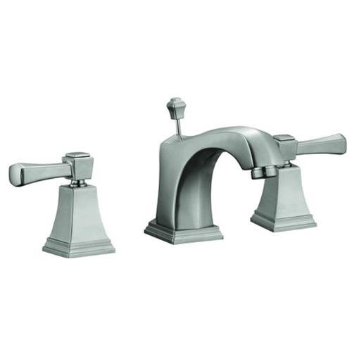 Torino Wide Spread Lavatory Faucet, Satin Nickel