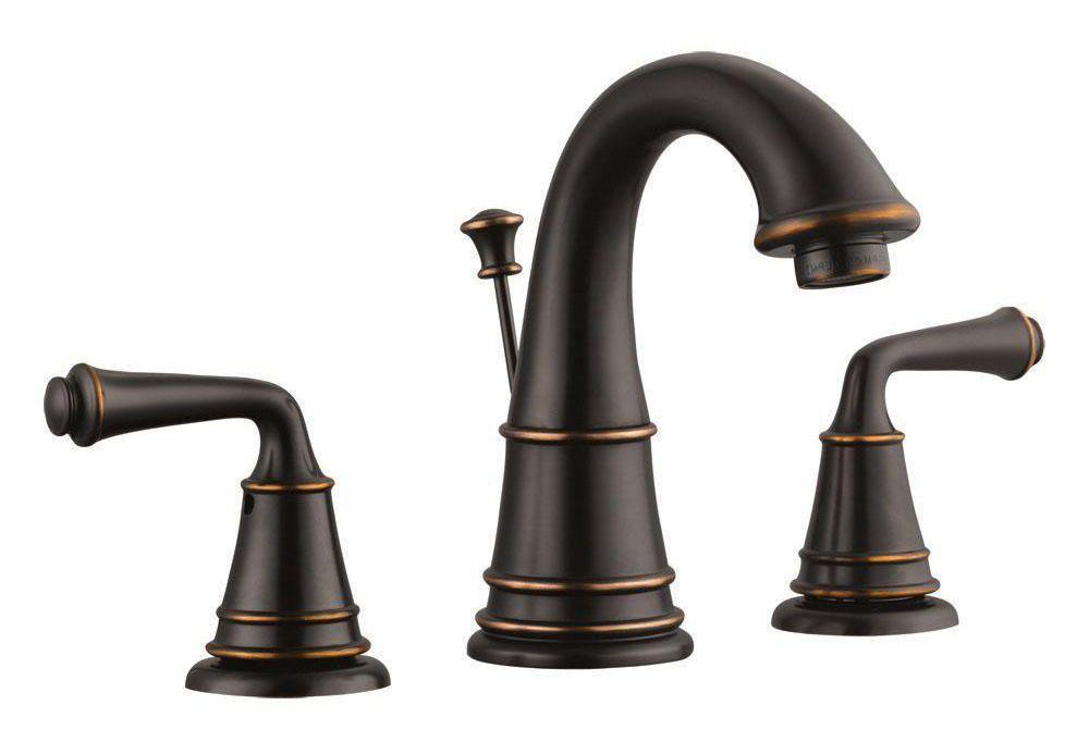 Eden Wide Spread Lavatory Faucet, Oil Rubbed Bronze