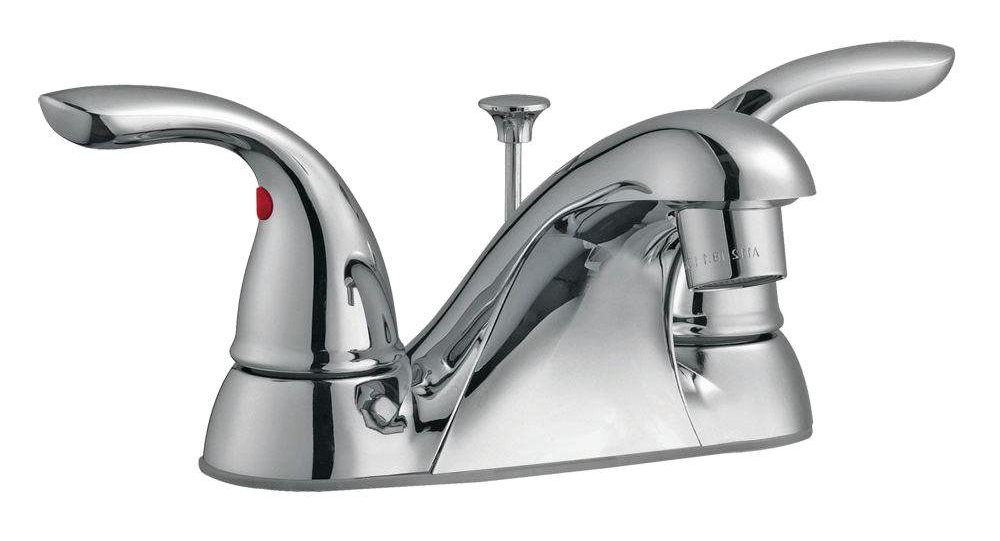 Ashland 4-Inch Lavatory Faucet, Polished Chrome