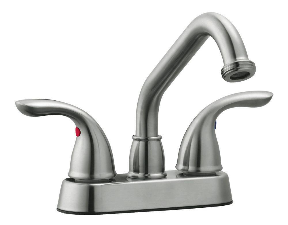 Ashland Laundry Faucet, Satin Nickel