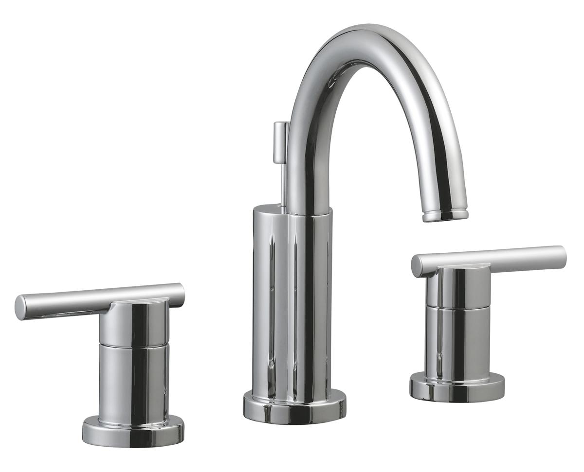 Geneva Wide Lavatory Faucet, Polished Chrome