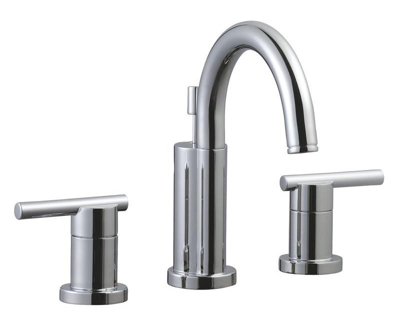 Geneva 4-Inch Lavatory Faucet, Polished Chrome