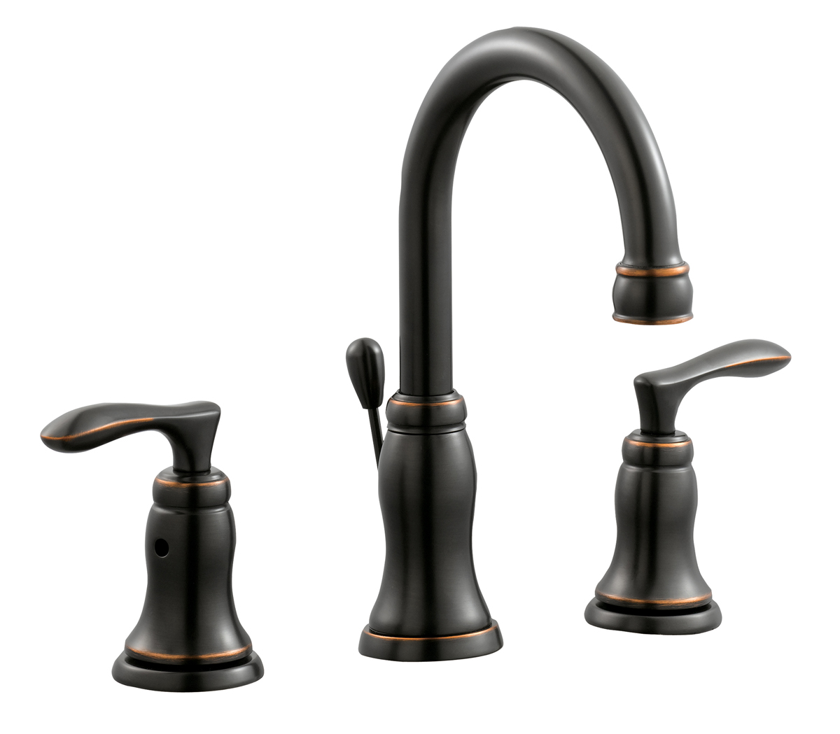 Madison Wide Spread Lavatory Faucet, Oil Rubbed Bronze