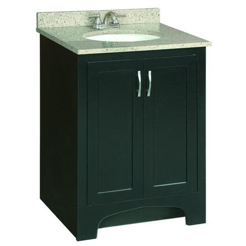 "Ventura Espresso Vanity Cabinet with 2-Doors, 24"" by 33.5"""