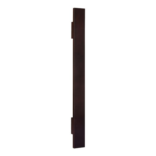 "Ventura Espresso Finish Solid Wood Filler, 33.5"" by 0.75"""