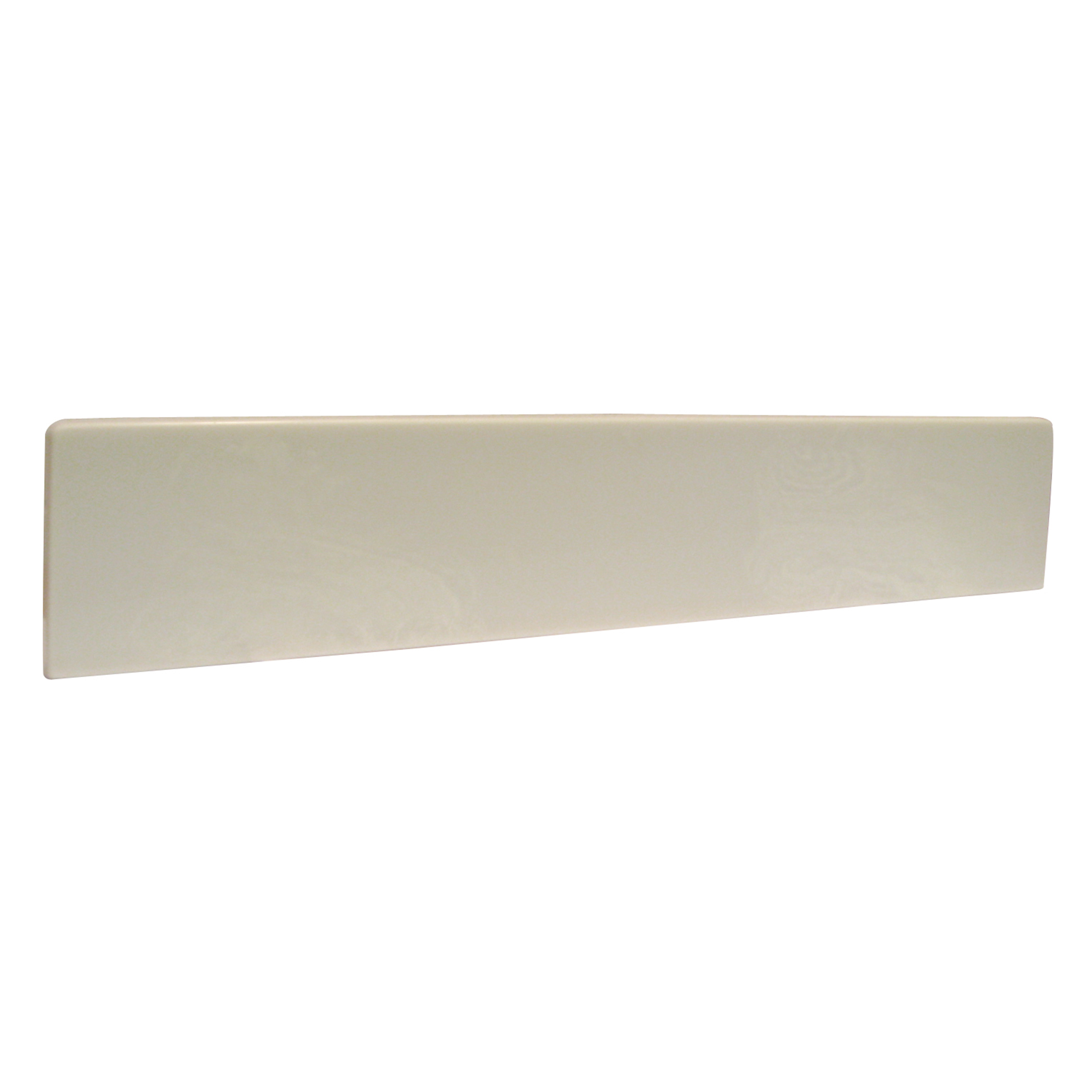 19-Inch Universal Marble Side Splash, White