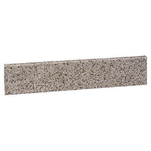 22-Inch Universal Granite Side Splash, Golden Sand