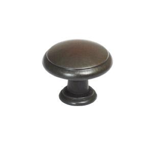 Victorian Door and Cabinet Knob, Oil Rubbed Bronze
