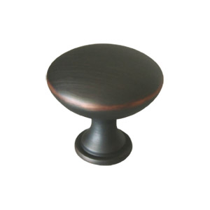Midtown Door and Cabinet Knob, Oil Rubbed Bronze