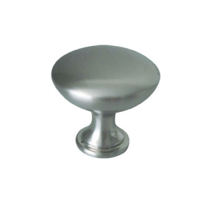Midtown Door and Cabinet Knob, Satin Nickel
