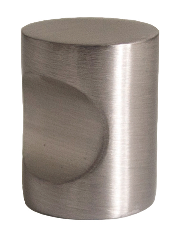 Design House 205112 Barrel Cabinet Knob, Brushed Nickel