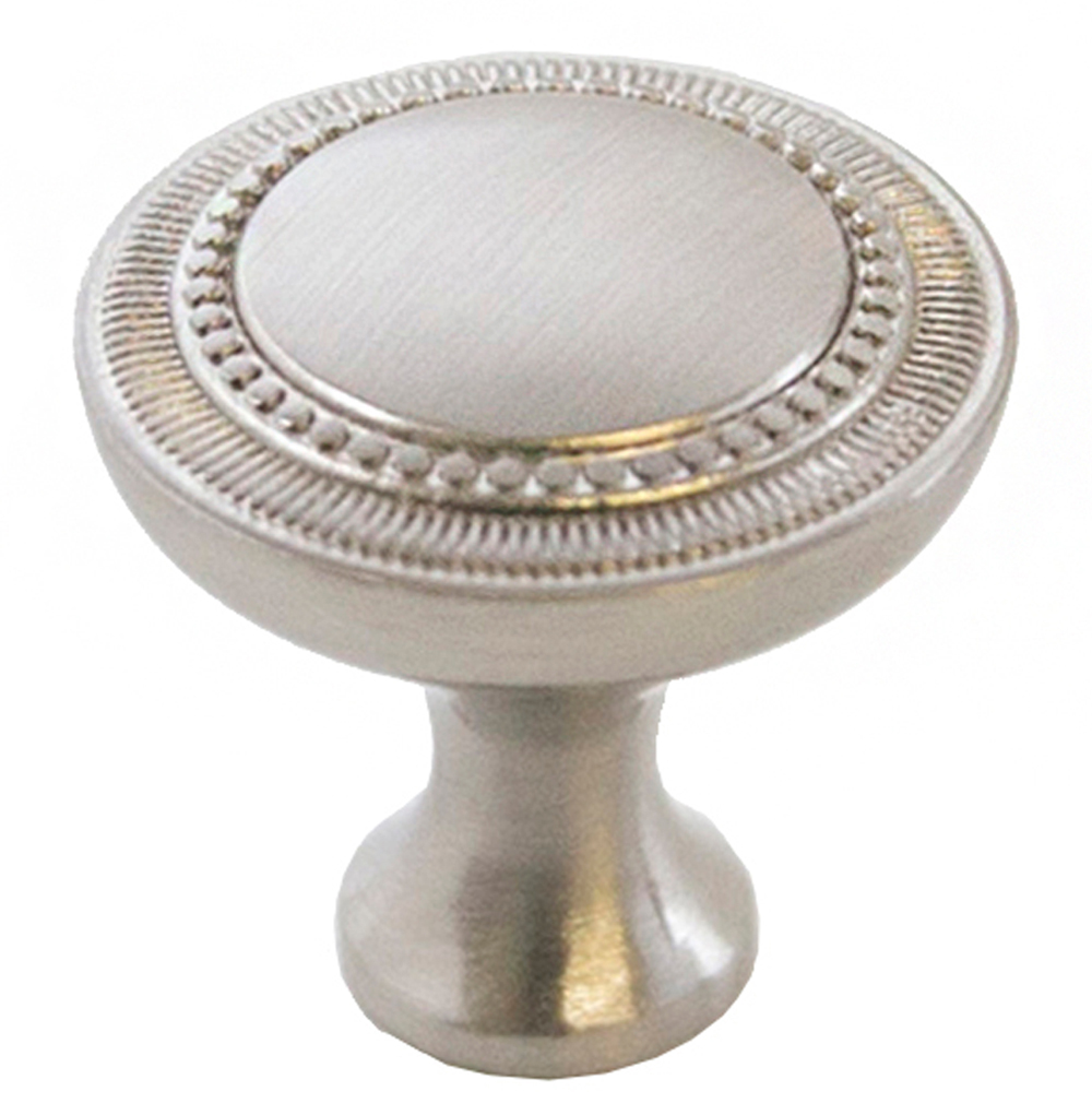 Design House 205203 Regal Cabinet Knob, Brushed Nickel