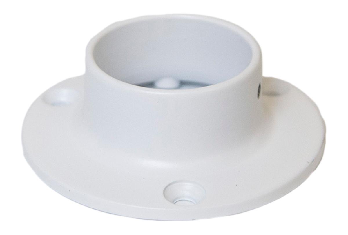 "Design House 205773 1-3/8"" Closet Pole Socket, White"