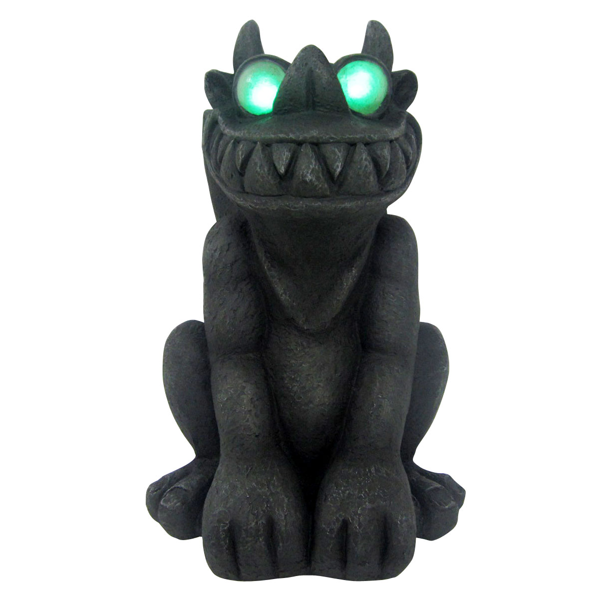 "Design House 18.1"" LED Gargoyle Light-Up Lawn Decoration"