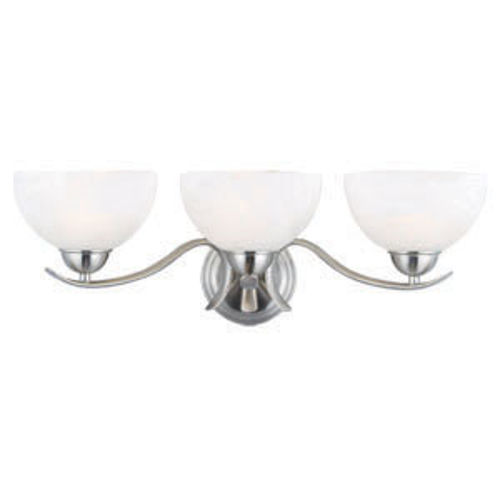 Trevie 3-Light Vanity Light, Satin Nickel