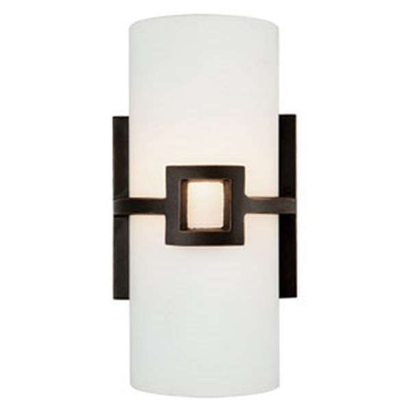 Monroe 2-Light Wall Sconce, Oil Rubbed Bronze