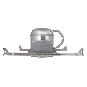 6-Inch Recessed Lighting Housing for New Construction, Galvanized Steel