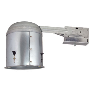 6-Inch Recessed Lighting Housing for Remodel, Galvanized Steel