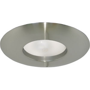 6-Inch Recessed Lighting Wide Ring Trim, Satin Nickel