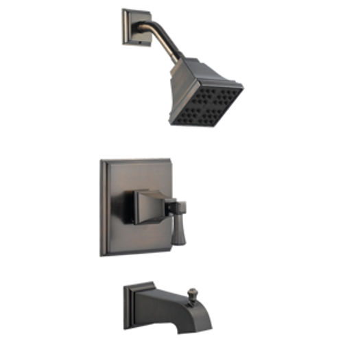 Torino Tub and Shower Faucet, Brushed Bronze