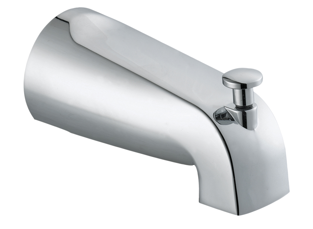 Design House 522565 Tub Diverter Spout, Polished Chrome