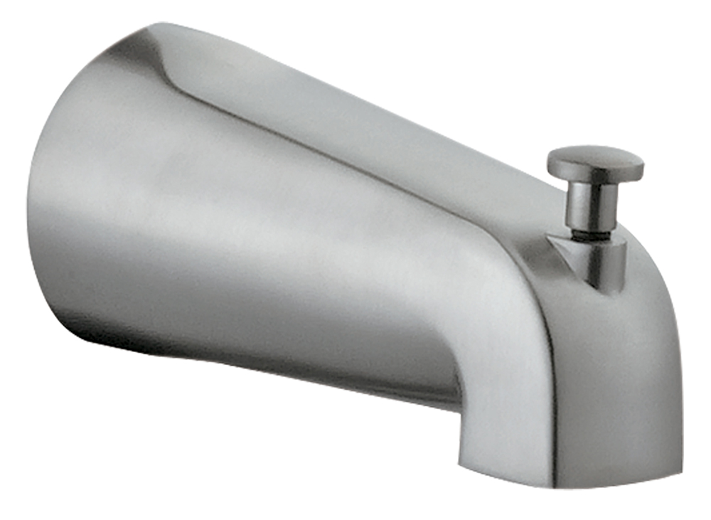 Design House 522573 Tub Diverter Spout, Satin Nickel
