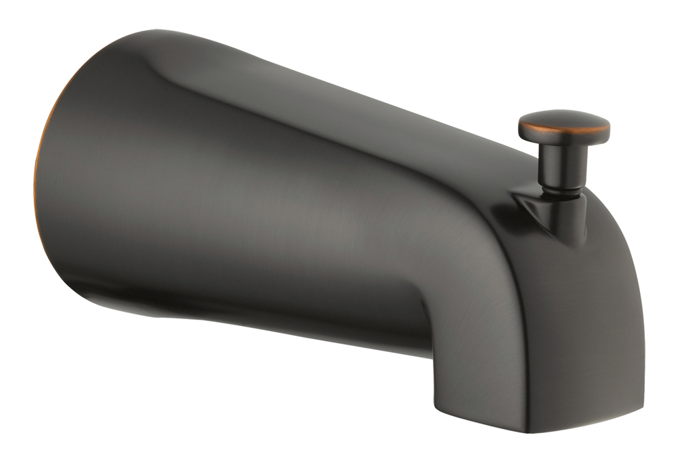 Design House 522581 Tub Diverter Spout, Oil Rubbed Bronze
