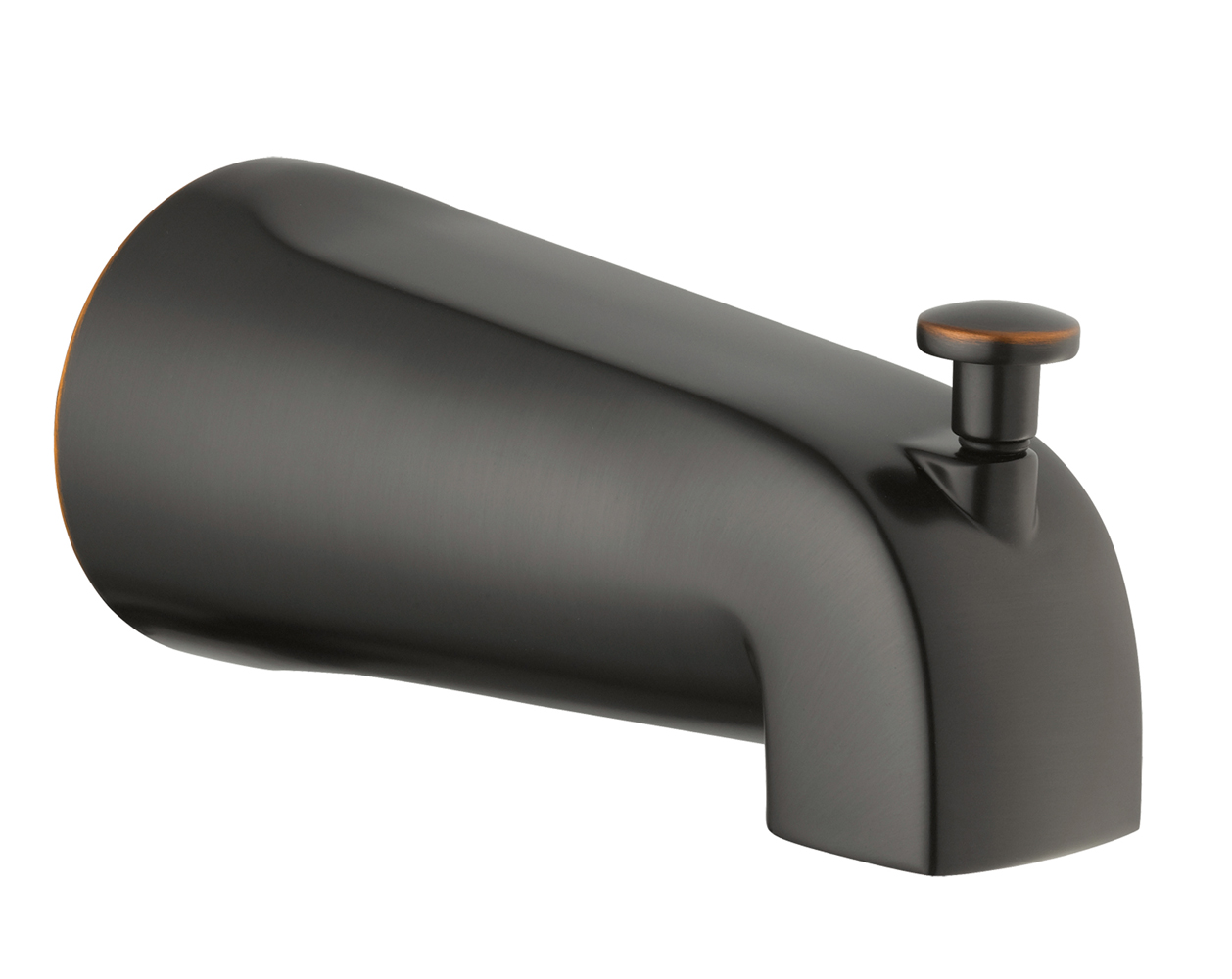 Design House 522920 Slip on Tub Diverter Spout, Oil Rubbed Bronze