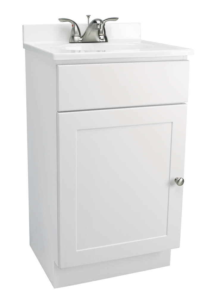 """Design House 541599 1-Door Vanity Combo 19"""", White"""