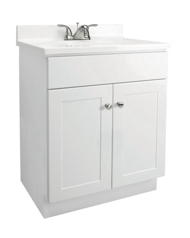 Design House 541615 2 Door Vanity Cabinet Combo, White