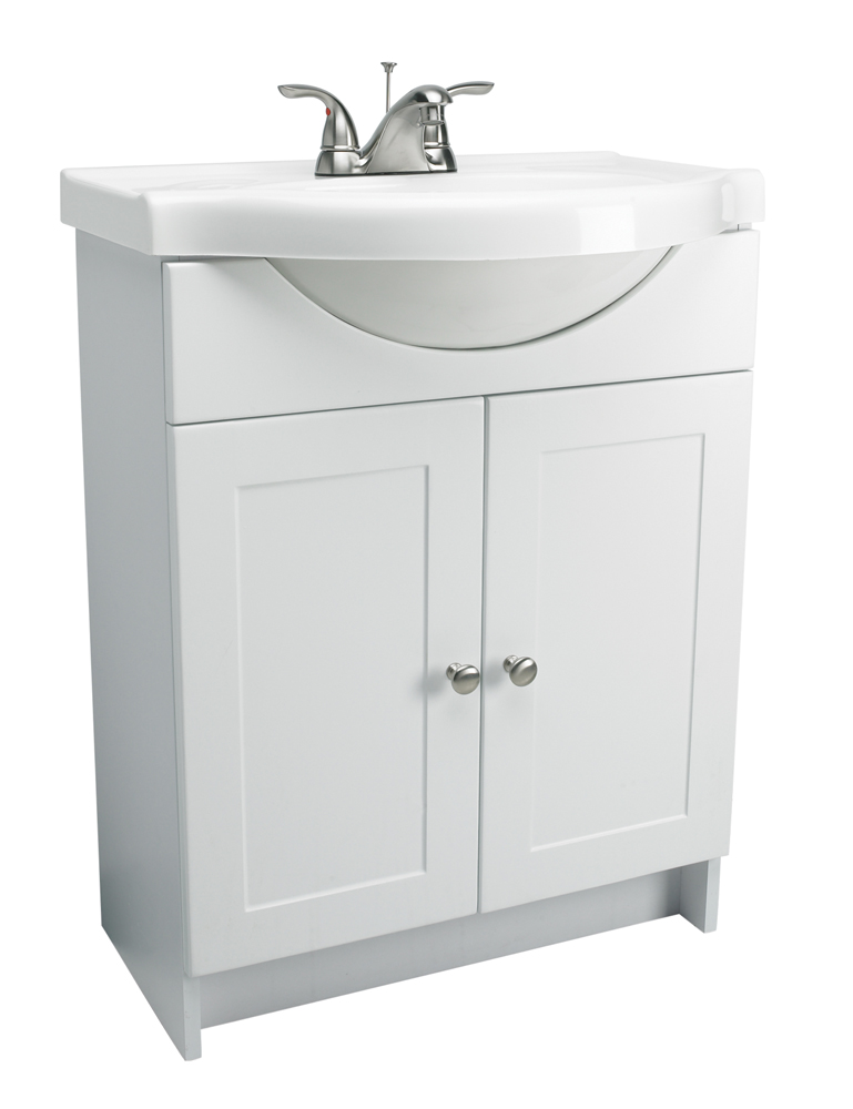Design House 541664 Euro Vanity Combo, White
