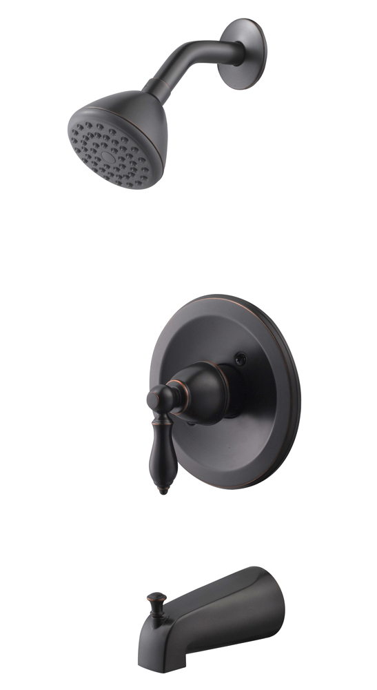 Design House 545624 Hathaway Tub and Shower Faucet, Oil Rubbed Bronze