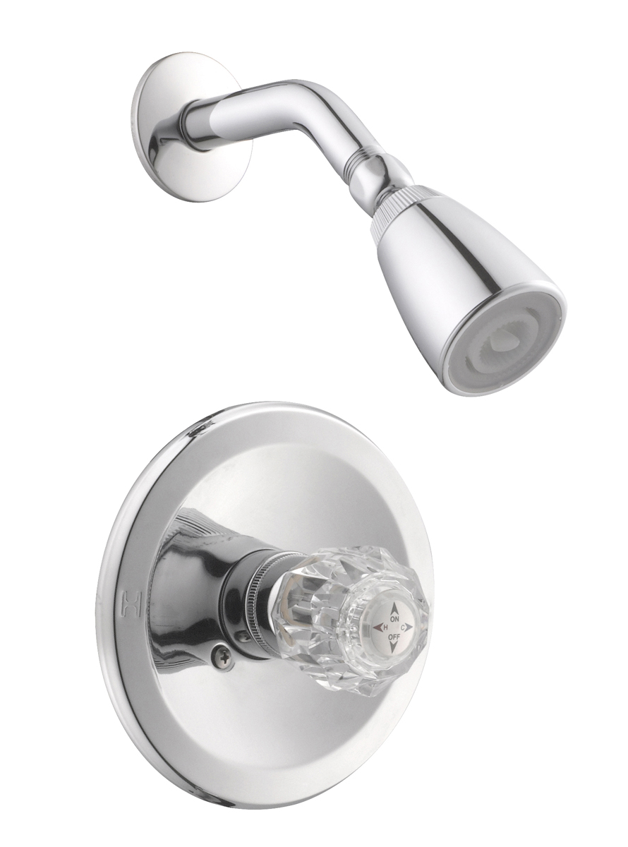 Design House 545939 Millbridge Shower Trim With Valve, Polished Chrome