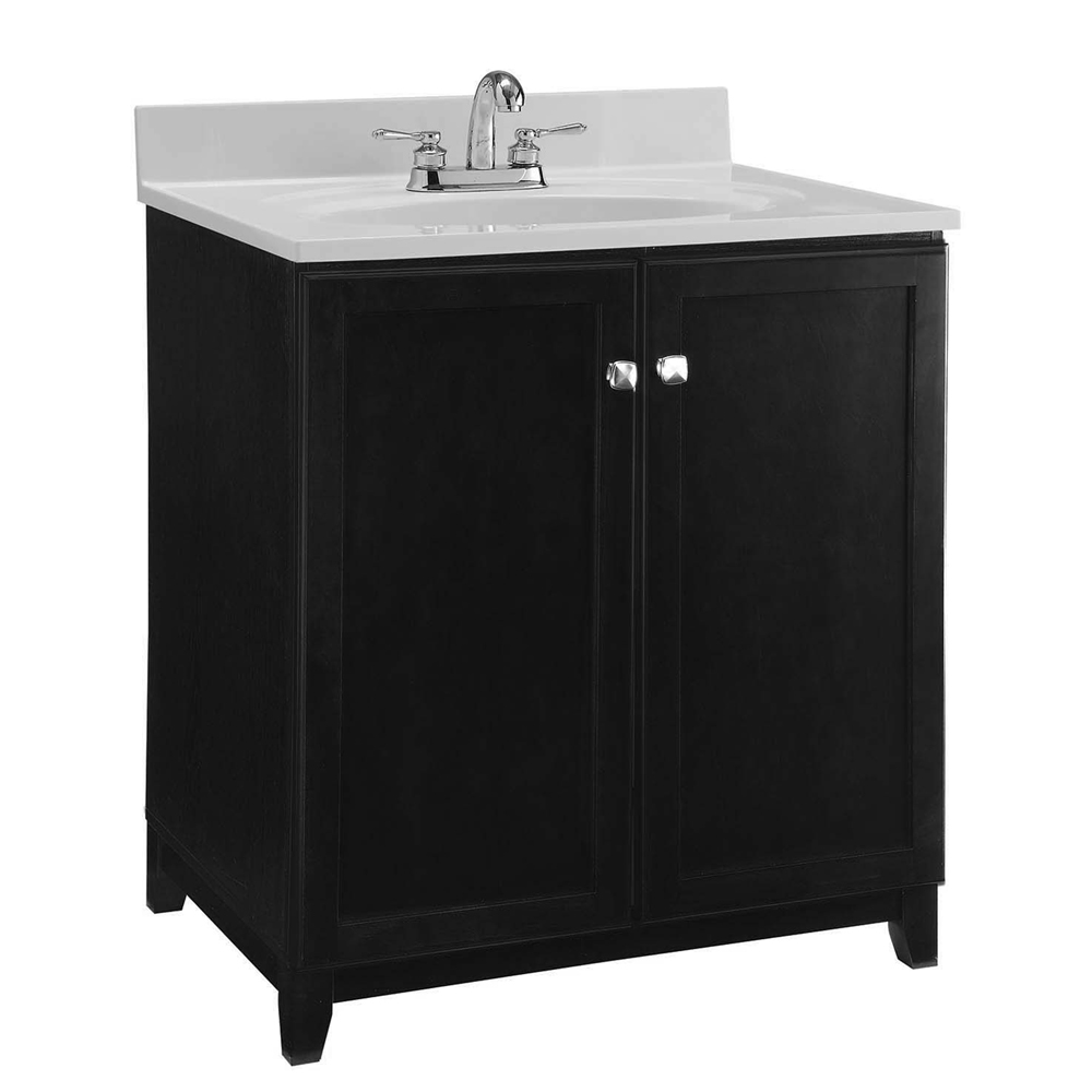 Design House 547000 Furniture-Style Vanity Cabinet, 30-inches by 21-inches, Espresso