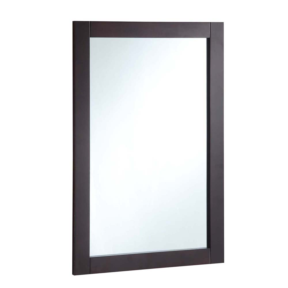 Design House 547075 20-inch by 30-inch Vanity Mirror, Espresso