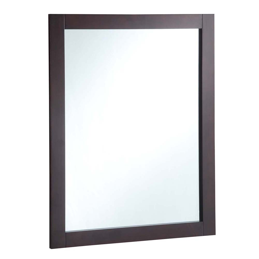 Design House 547083 24-inch by 30-inch Vanity Mirror, Espresso
