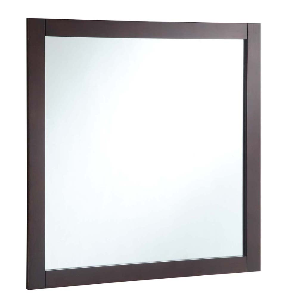 Design House 547091 30-inch by 30-inch Vanity Mirror, Espresso