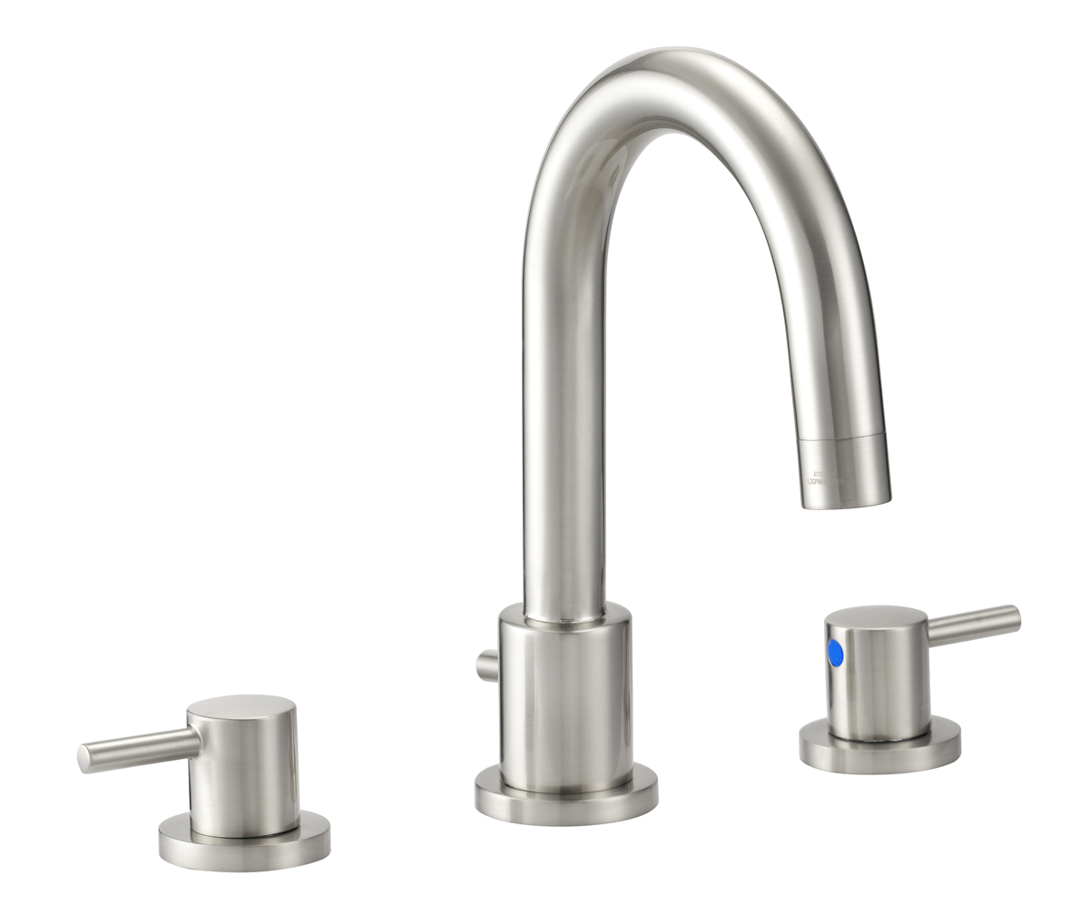 Eastport Widespread Bathroom Faucet, Satin Nickel