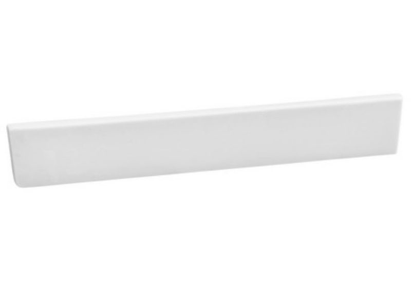 Design House 554246 Camilla 22-Inch Side Splash, White