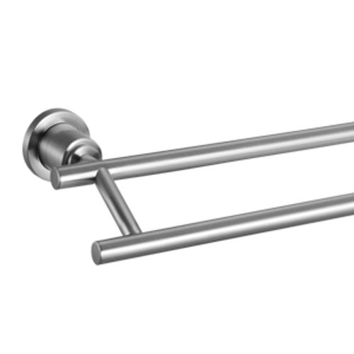 Geneva 24-Inch Double Towel Bar, Satin Nickel
