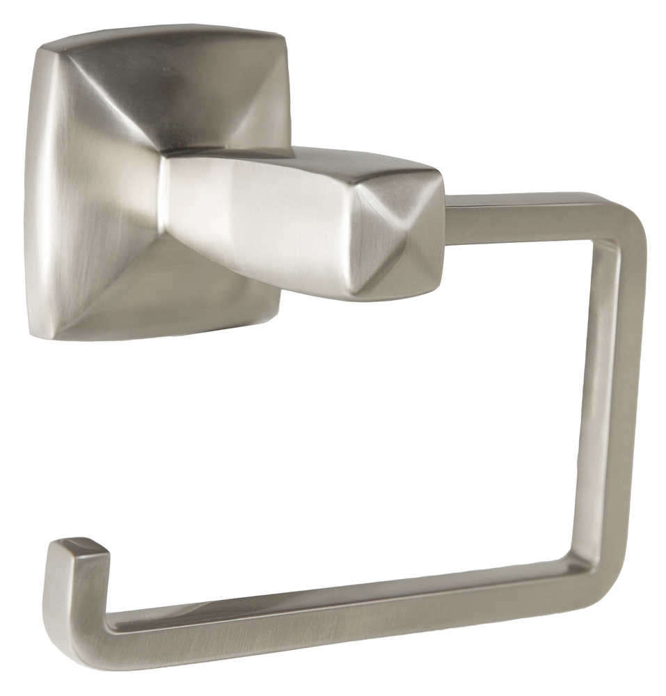 Design House 580837 Perth Toilet Paper Holder, Satin Nickel Finish