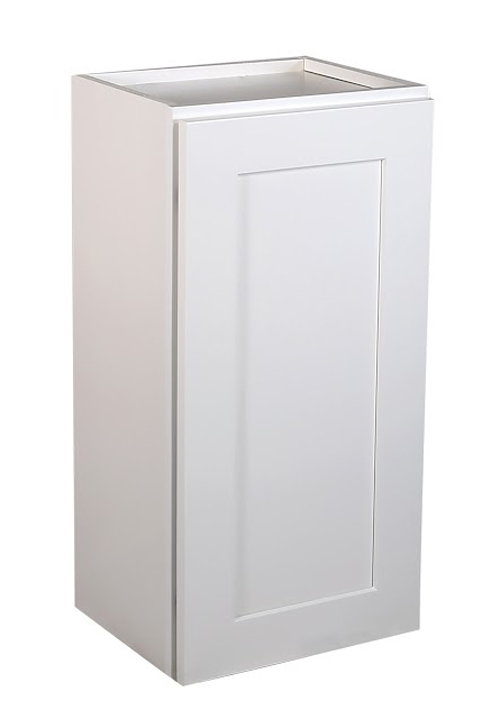 "Brookings 18"" Fully Assembled Kitchen Wall Cabinet, White Shaker"