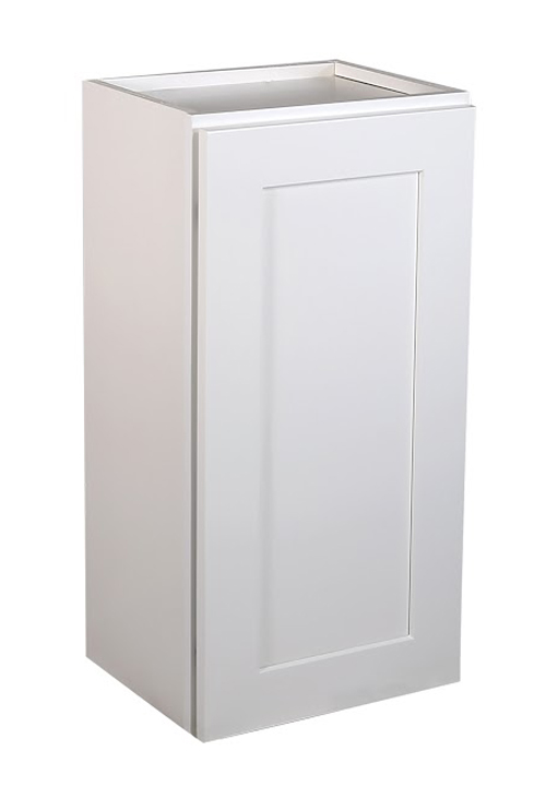 "Brookings 12"" Fully Assembled Kitchen Wall Cabinet, White Shaker"