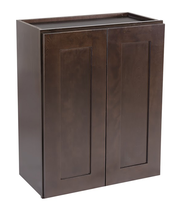 "Brookings 21"" Fully Assembled Kitchen Wall Cabinet, Espresso Shaker"