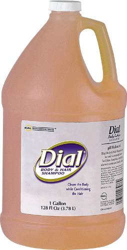 DIAL BODY AND HAIR SHAMPOO 1 GALLON