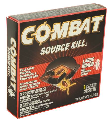 COMBAT ROACH KILLING BAIT SYSTEM